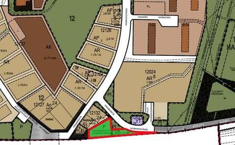 Karttaotteeseen on merkitty Hakamaanpuiston sijainti.