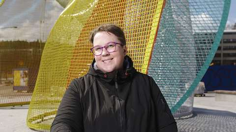 Tutkimusjohtaja Minna Joensuu.