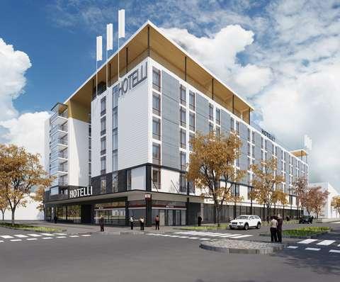 An illustration of Matinkylä's new hotel.
