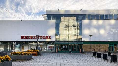 Valokuva Heikintorista syksyllä 2021
