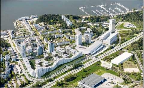Ote 412500 Kivenlahden metrokeskus korttelisuunnitelmasta
